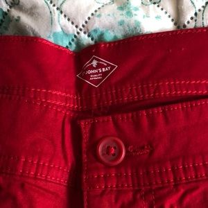 Women's Red Shorts